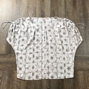 Juicy Couture Open Shoulder Blouse Size Small